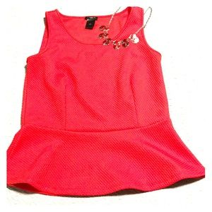 Ann Taylor fitted and mildly flared sleeveless top